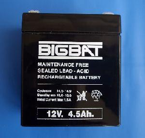 Акумулатор BigBat 12V/4.5Ah